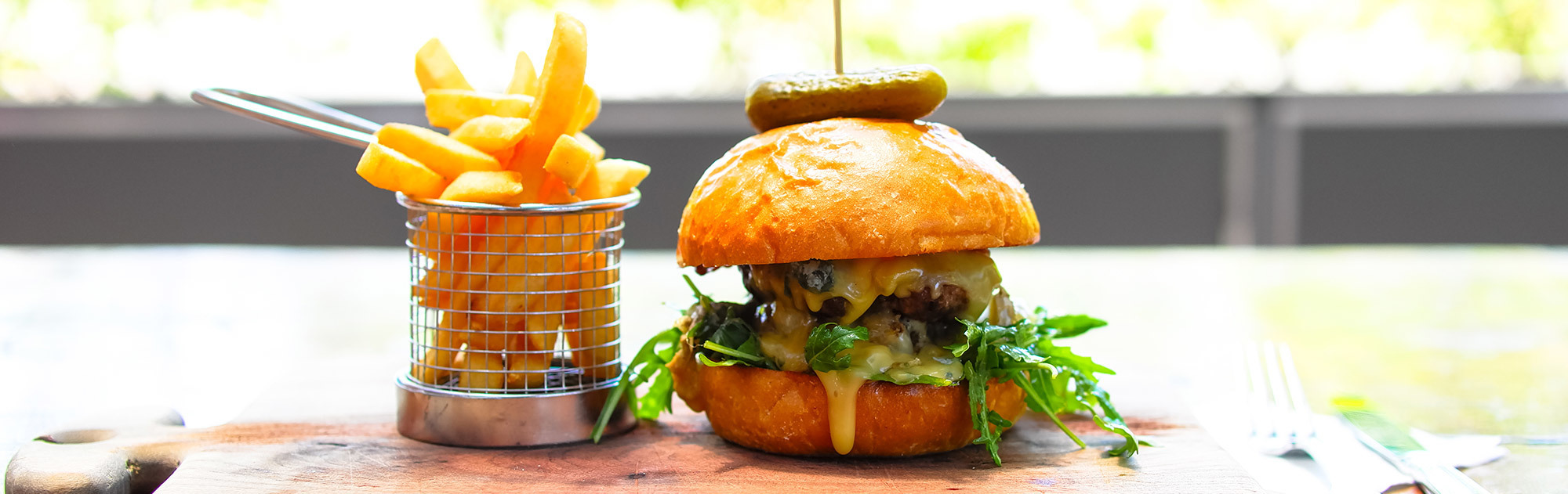 Burger And Drink 20